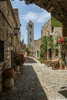 Hios island Greece