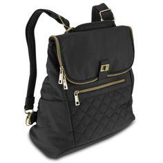 Ladies-Backpack-Convertible-women-Cross-body-bag-shoulder-bag-w-RFID-protection