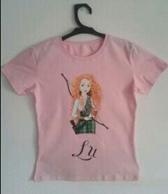 Camisetas pintadas a mano  Merida de Aventura