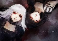 Kurona and Nashiro by Namu