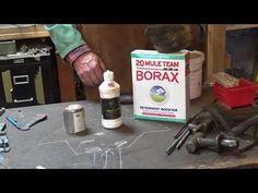 Introduction to forge welding - basic blacksmithing - YouTube