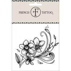 Fleur - Tatouage éphémère