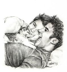 Klaine ❤ love *btw this is by pencilpushingenthusiast - she does awsome drawings!!*