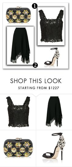 """Outfit # 4597"" by miriam83 ❤ liked on Polyvore featuring Monique Lhuillier, Givenchy, Corto Moltedo and Dolce&Gabbana"