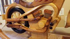 Cheval à bascule en bois moto par WoodArtByScott sur Etsy