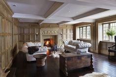 Oak panelling — Jack Badger Ltd Wooden Panelling, Duck House, Basement Inspiration, Wood Panel Walls, Wall Wood, Oak Panels, Tudor House, Secret Rooms, Dream Rooms