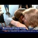 Our kids may never understand how much their absence makes our hearts ache. U.S. Navy Sailor Surprises Her Mom During News Interview