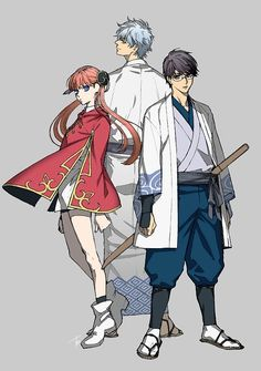 Gintama - two years after the war Manga Art, Manga Anime, Anime Art, Fanarts Anime, Anime Characters, All Anime, Anime Guys, Boca Anime, Samurai