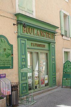 Boulangerie  | ♕ |  Patisserie in Isle-sur-la-Sorgue  | by homo_sapiens | via bonparisien
