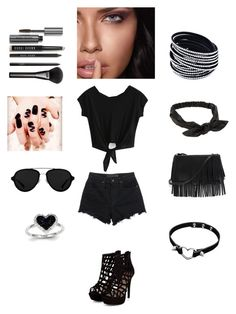 """""""Untitled #82"""" by thisagiperera ❤ liked on Polyvore featuring Alexander Wang, White House Black Market, 3.1 Phillip Lim, NLY Accessories, Kevin Jewelers, Gucci, NARS Cosmetics, Bobbi Brown Cosmetics and Maybelline"""