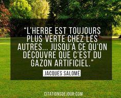 Inspirational Quote: Très belle citation de Jacques Salomé sur la jalousie