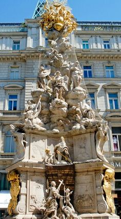 Vienna, Graben, Pestsäule