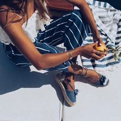 """Faithfull the Brand on Instagram: """"@sincerelyjules exploring the Amalfi Coast of Italy wearing the #TomasPants and sandals from @soludos #faithfulltravels"""""""