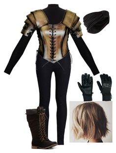 """""""YAL - Vioia Drokkain - Work"""" by littlemisslava ❤ liked on Polyvore featuring Lipsy, Rodarte, Outdoor Research and Jennifer Behr"""