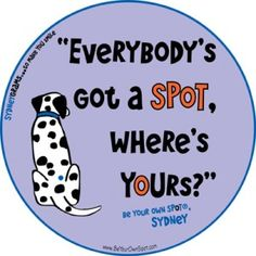 Everybody's got a SPoT!
