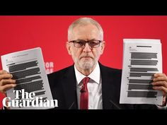 Labour leader says documents leave Boris Johnson's denials on post-Brexit US trade deal 'in tatters' Send In The Clowns, Jeremy Corbyn, Boris Johnson, Denial, The Guardian, Politics, Uk Trade, Proposals, Proposal