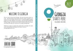 Georgian starts here book cover_print Guide Book, Georgian, Travel Guide, Cover, Books, Libros, Georgian Language, Travel Guide Books, Book
