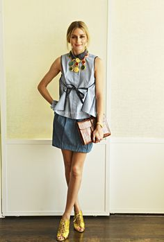 Olivia Palermo - 30 Looks for 30 Days- Day 19