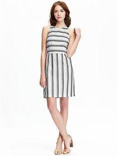 Women's Striped Sheath Dresses | Old Navy