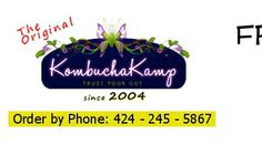 Kombucha Kamp Phone Orders Call 424.245.5867 - Select your high quality Culture or Kit