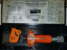 THOMAS BETTS 367 HYDRAULIC CABLE CUTTER CUTTING TOOL