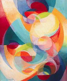 Stumbling Towards Art Appreciation: Stanton MacDonald-Wright - Set #2