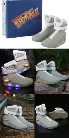 6a3ea7fd6428 Back to the Future 2 Light Up Shoes. Marty Mcfly ...