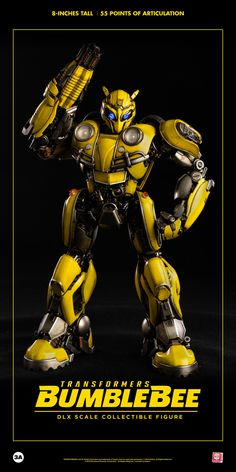 Transformers DLX Collectible Figure Series Bumblebee revealed and TFsource preorder. Transformers Bumblebee, Transformers Movie, Bumblebee Bumblebee, Optimus Prime, Paramount Pictures, Sideshow Collectibles, Action Figures, The Incredibles, Statue