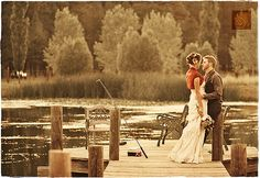 Such a perfect, peaceful and beautiful picture - love the fishing pole leaning against the dock!  Also a wonderfully written blog about the real meaning of a wedding.
