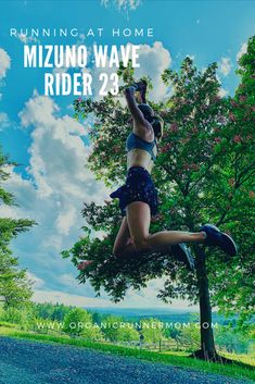 Running at Home with the Mizuno Wave Rider 23 - Organic Runner Mom
