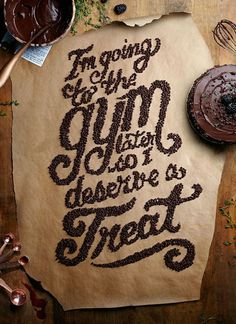 Delicious Food Typography Designs For Inspiration