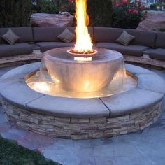 One day I'll be cool enough to have a fire fountain in my yard...one day