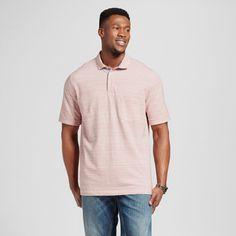 Men's Big Club Polo Shirt Pink 5XB - Merona, Shirts & Tops