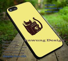 Cute Kitty Funny iPhone 6s 6 6s  5c 5s Cases Samsung Galaxy s5 s6 Edge  NOTE 5 4 3 #art DOP7172