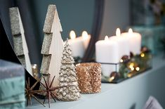 Did you know you can Flash your holiday decor? Add a little sparkle to candles, ornaments, and wine bottles. Christmas Crafts For Gifts, Christmas Sweets, Christmas And New Year, Christmas Lights, Christmas Wreaths, Merry Christmas, Xmas Tree Decorations, Candles, Holiday Decor
