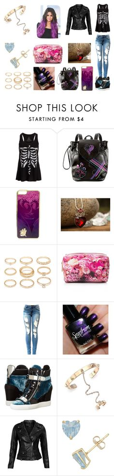 """at the mall- Zira"" by dancer-girl589 ❤ liked on Polyvore featuring Disney, Once Upon a Time, Forever 21, Giuseppe Zanotti, Valentino and VIPARO"