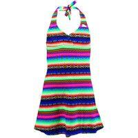 Robes courtes Lolita Angel Robe de plage Enfant  Acapulco Smile Multicolore