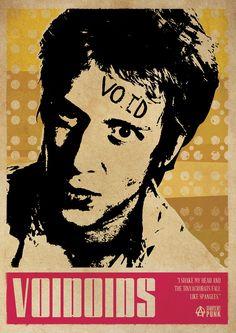 Richard Hell Voidoids Punk Poster