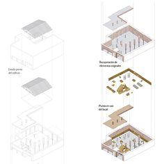 Serrano + Baquero. Estudio de Arquitectura de Granada Architecture Diagrams, Granada, Architects, Spain, Building, Home Decor, Architectural Firm, Projects, Grenada