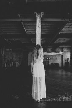 Spooky Three Brides Wedding Editorial