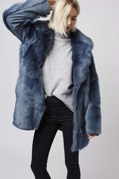 Dying Sheepskin Coat - Coat Nj