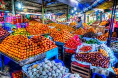 Snapshot of the fruit and vegetable market I   by yanwym