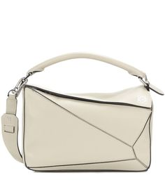 Loewe - Puzzle Small leather bag - Impeccably constructed, Loewe's Puzzle bag is a charming addition to any handbag edit. The…