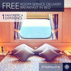 Een ideale manier om van de zee te genieten: de Fantastica experience.  #MedWayofLife #reizen #comfort