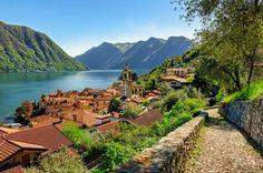 Besuchen Sie den Comer See und seine Umgebung - City Breaker Lac Como, Cool Places To Visit, Places To Travel, Travel Destinations, Beautiful Buildings, Beautiful Places, Comer See, Lake Como Italy, Hotels