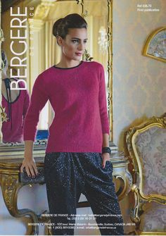 Open Back Evening Sweater in Bergere de France Angel & Caline - 33670. Discover more Patterns by Bergere de France at LoveKnitting. The world's largest range of knitting supplies - we stock patterns, yarn, needles and books from all of your favorite brands.