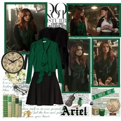 """""""Ariel- Of Once Upon A Time"""" by opelazar on Polyvore"""
