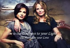 Emma & Regina in Once upon a time