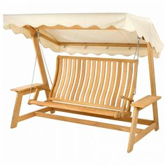 Alexander Rose Roble Swing Seat Hammock with Canopy £1,543.99 Hammock With Canopy, Wood Canopy, Shade Canopy, Garden Furniture Sale, Porch Furniture, Furniture Covers, Outdoor Furniture, Furniture Design, Outdoor Seating
