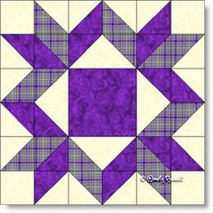 Mother's Choice quilt block pattern
